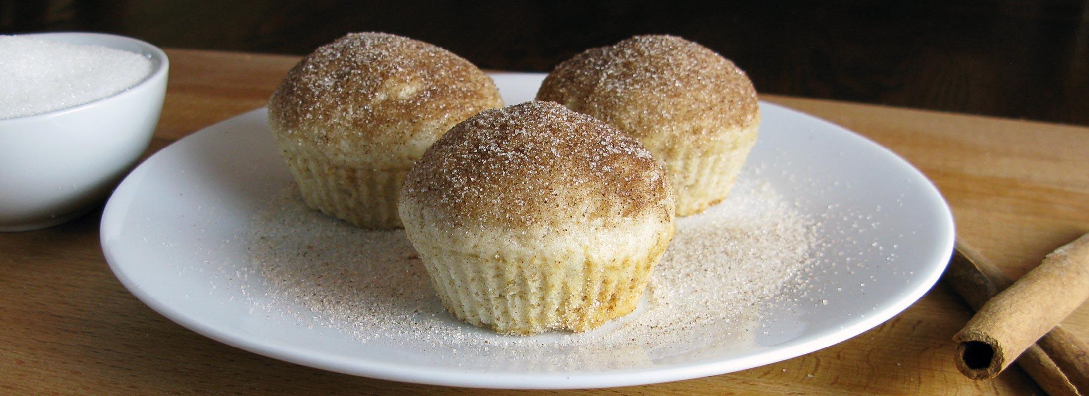 French Breakfast Muffins (Puffs)